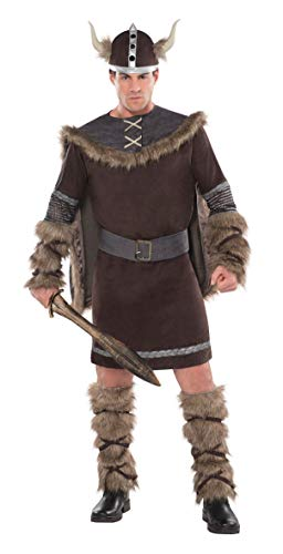 Christy's - Disfraz Viking Warrior para hombre, talla M/L (997044)