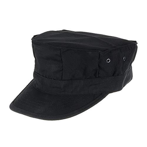 Lejie Camuflaje Sombrero Militar de Los Hombres Cadete Gorra Militar Protección UV...