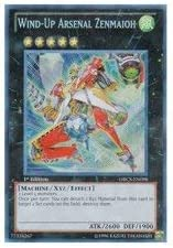 Yu-Gi-Oh - Wind-Up Super intense SALE Arsenal Zenmaioh of Cha safety Order ORCS-EN098