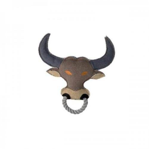Hunter Hundespielzeug Canvas Ring Ox, Spielzeug für Hunde, Kauspielzeug