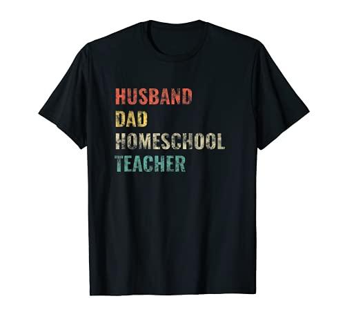 Best Homeschool Dad T-Shirt