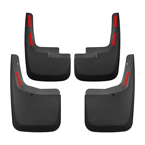 Tecoom Mud Flaps Splash Guards for 2015-2019 Ford F150 with Wheel Lip Molding...