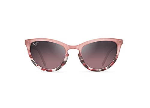Maui Jim - Gafas de sol | Star Gazing B813-06F | Marco de ojo de gato polarizado, Rubor mate/Tokio rosa, con tecnología patentada PolarizedPlus2 Maui Rose®