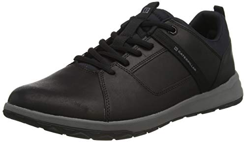 Cat Footwear Unisex Quest Mod Sneaker, Black/MEDIUM Charcoal, 40 EU