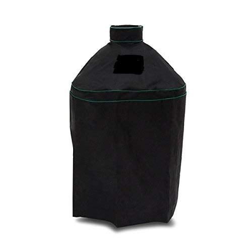 """Grill Cover Fits Kamado Joe - Classic 18"""" & Big Green Egg Large Grills In Nests - Waterproof - 2 Year no BS Warranty! Free Bonus thermometer/timer!"""