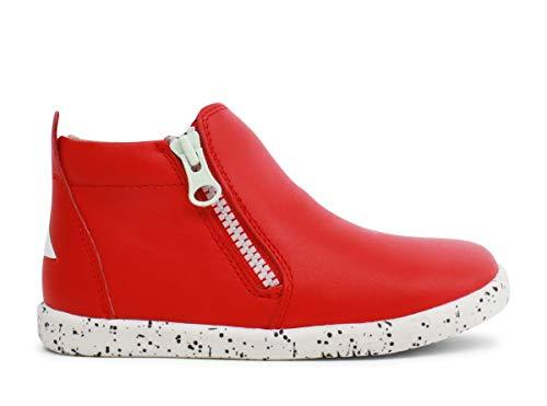 Bobux Unisex-Kinder Tasman Klassische Stiefel, Rot (Red Red), 25 EU
