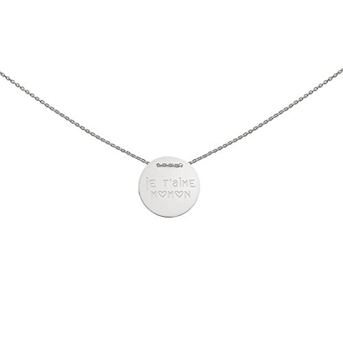 heart to get IAM437N-JTMM-S Damen Collier Je t'aime Momom Sterling-Silber 925 70 cm