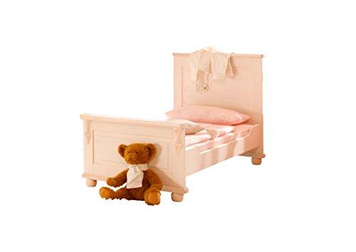 Ticaa Umbau-Set Kinderbett Lara Kiefer Weiß