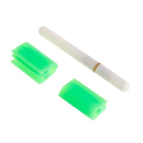 Htipdfg Fischen-Licht Angeln Elektronischer Rod Luminous-Stock-Licht-LED Abnehmbarer Wasserdicht Float-Gerät-Nacht-Gerät aus Kunststoff ohne Batterie