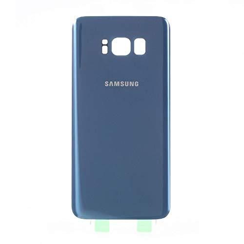 Todotumovil Tapa Trasera de bateria Cristal Trasero para Samsung Galaxy S8 G950F Azul