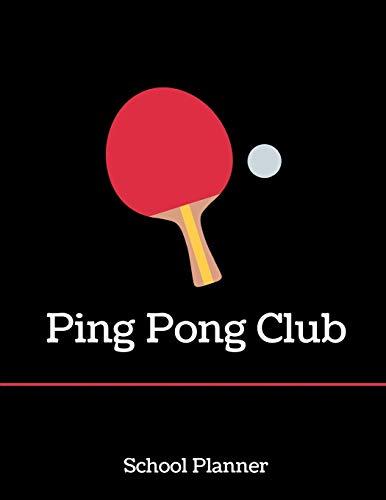 Ping Pong Club: School Planner