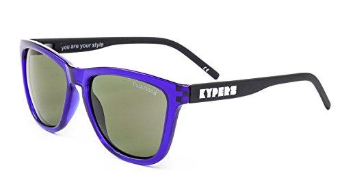 KYPERS Caipirinha Gafas de sol, Clear Purple - Purple Mirror, 54 Unisex