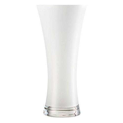 Zwiesel 1872 Vase, Glas, weiß, 31.7 x 14.7 x 14 cm