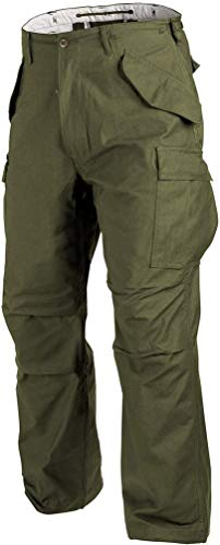 Helikon-Tex M65 Hose Outdoor Militär Bundeswehr Army -NyCo Sateen- Olive Green
