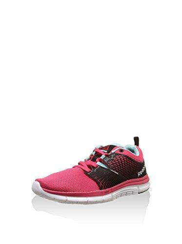 Reebok Damen Zquick Dash, pink/schwarz, 43 EU