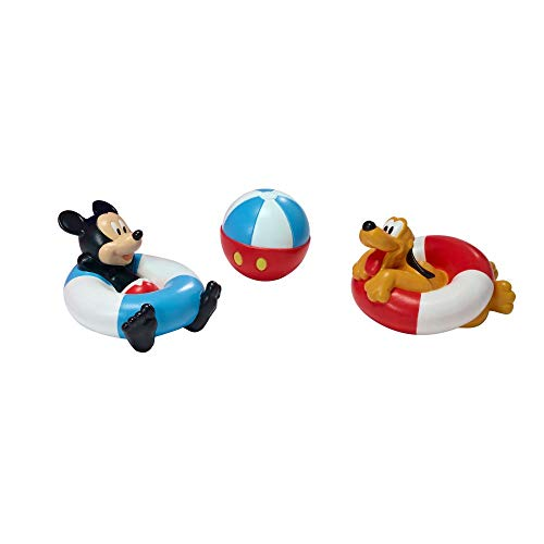 The First Years Disney Mickey Mouse Baby Bath Squirt Toys for Sensory Play