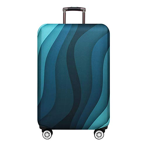 Luggage Cover Protector Suitcase Cover Protector fits 30-33 inch Luggage (green, XL)