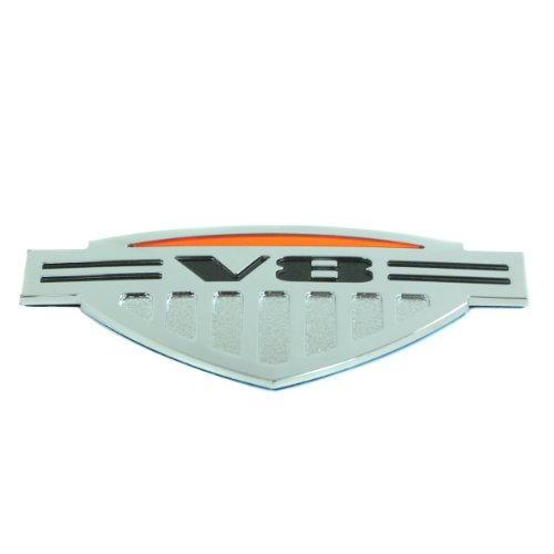 General Motors 2009-10 Factory Hummer H3 'V8' Alpha Limited Edition Emblem Decal Badge 25979729