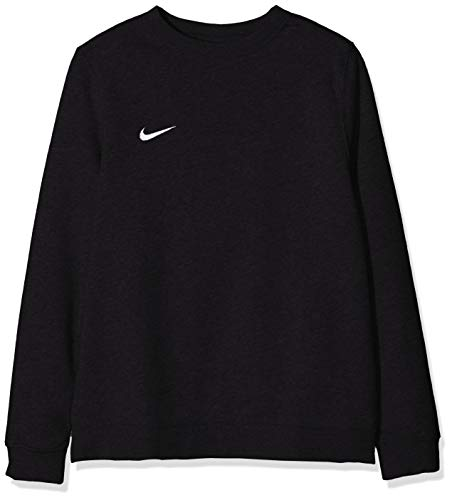 Nike Jungen Y CRW FLC TM CLUB19 Sweatshirt, Black/(White), S