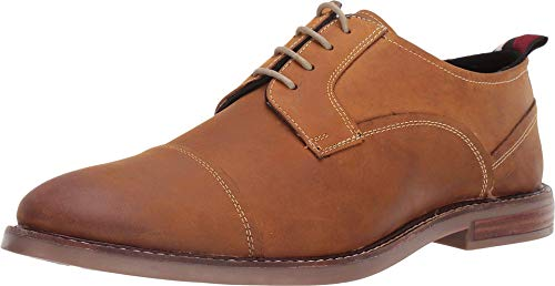 Ben Sherman Brent Cap Toe Tan Leather 40 (US Men's 7)