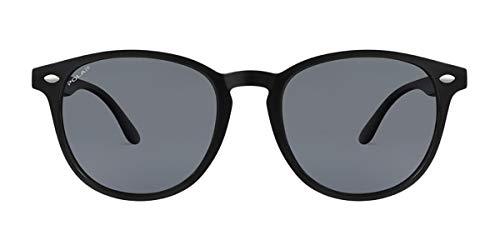Polar sonnenbrille Terry polarisiert Kat. 4 Nylon schwarz/schwarz