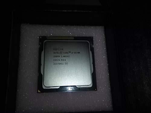 Intel Procesador Core i5 (3570K) 3.4GHz 6MB L3 Cache 5GT/s Velocidad de bus (caja certificada)