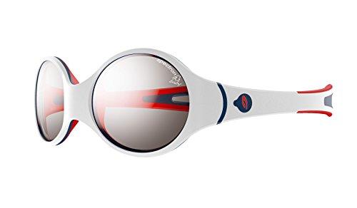 Julbo Loop Sonnenbrille weiß Weiß/Rot/Blau