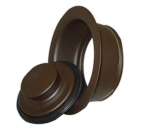 Mr Scrappy 21DSFS3ORB 3Bolt Garbage Disposal Drain Stopper Sink Flange Oil Rubbed Bronze