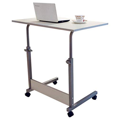 Staande opwindende mobiele notebook-computer-bureau, bijzettafel, voorbeeldwagen, laptop, schrijftafel, auto-studie-tafel, koffietafel, luxe tafel, eenvoudig te monteren met voetrollen-H A