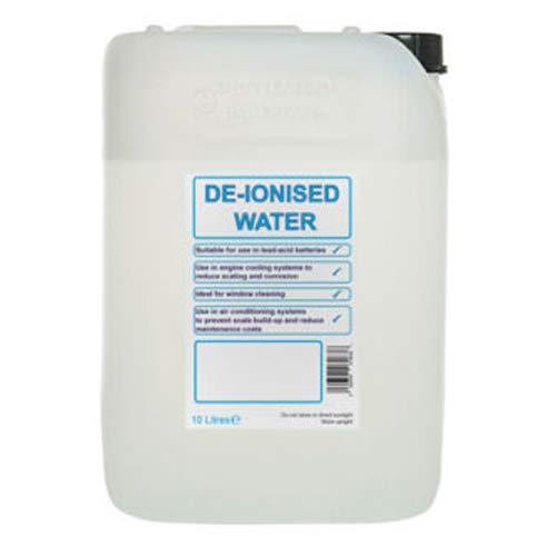 We Can Source It Ltd - Botella de agua desionizada de agua destilada desmineralizada - 4 botellas de 5 litros (20 litros)