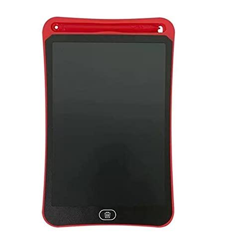 Placa de Escritura LCD de 8,5 Pulgadas, se Puede borrar/Utilizar para Dibujar LCD Tablero de Escritura LCD Notebook Portátil Portátil Smart Board Regalo para niños,E