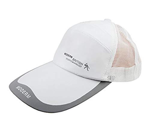 YJZQ Casquette Baseball Chapeau à Visière Longe Bord Homme Age Moyen Anti-Sol Pliable en Coton Style Simple pour Pêcheur Randonnée