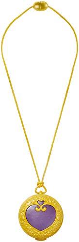 Polly Pocket Médaillon Magique, pendentif lumineux pour jouer les scènes de transformation, jouet enfant, FRY34