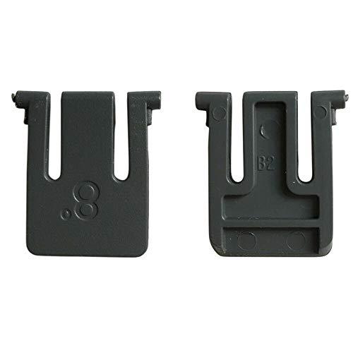 BAAQII Juego de 2 patas de soporte para teclado de repuesto para teclado Logitech K270 K260 K275