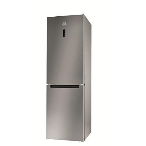 Indesit XI8 T2Y X B Frigorifero-Congelatore 338 L, No Frost, SN-T, 10 kg / 24h, A ++, Acciaio Inossidabile