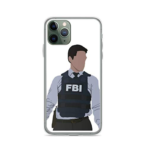 Cajas de teléfono Pure Clear Aaron Hotchner - cm - Criminal Minds Compatible con iPhone Samsung Xiaomi Redmi Note 10 Pro/Note 9/8/9A/Poco M3 Pro/Poco X3 Pro Funda Choque de caída