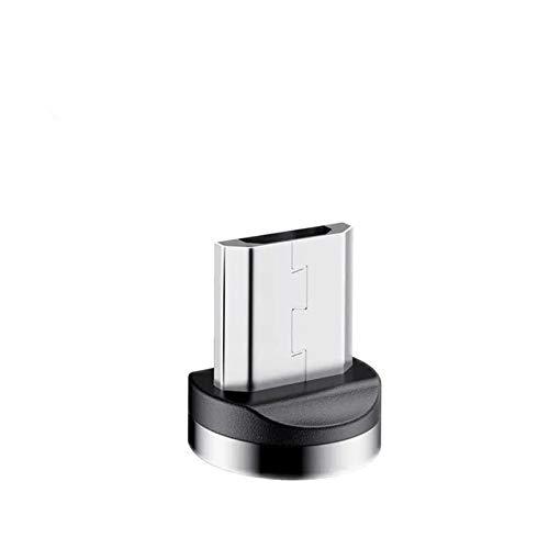 GBHD Cable redondo para lector de tarjetas SD de 8 pines tipo C micro USB C enchufe de carga rápida para iPhone 1 m de carga (color: para Android)