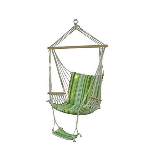 LOVELY Intérieur Balançoire Fauteuil Suspendu Respirant épais en Toile de Coton Balancez Adulte Parc Rocking Chair