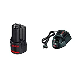 Bosch Professional 12V System Batterie GBA 12V 3,0 Ah & Chargeur Professionnel Gal 1230 CV (12 Volts, Chargeur Rapide)