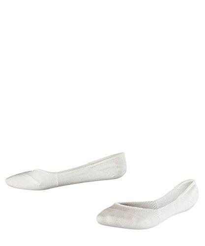 FALKE Kinder Füßlinge Ballerina Step - Baumwollmischung, 1 Paar, Weiß (Off-White 2040), Größe: 35-38