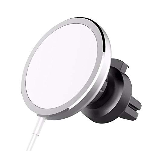Susian Soporte magnético para automóvil, Soporte magnético para teléfono para automóvil Compatible con Cargador MagSafe Soporte Giratorio para teléfono con ventilación de Aire de 360 Grados