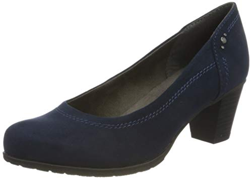 Jana Softline Damen 8-8-22461-25 Pumpe, Navy, 40 EU
