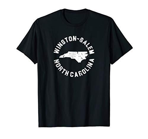Winston Salem North Carolina T Shirt NC Souvenirs