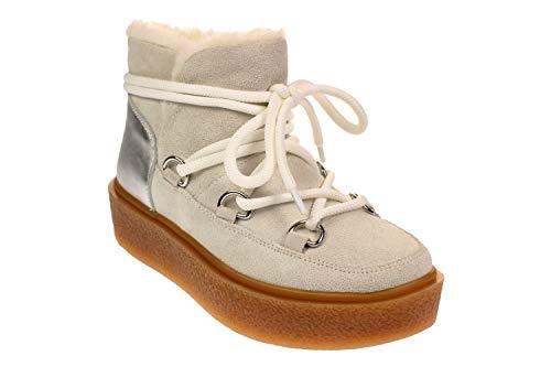 Inuovo 31401 - Damen Schuhe Boots Stiefel - Crosta-White, Größe:39 EU