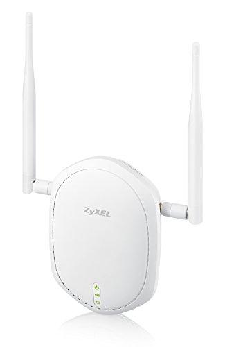 Zyxel Wireless Access Point mit Single Band 80211n PoE und zwei externen Antennen fur hohe Reichweite NWA1100 NH