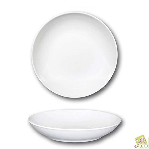 Assiette à couscous porcelaine blanche - D 26 cm - Napoli