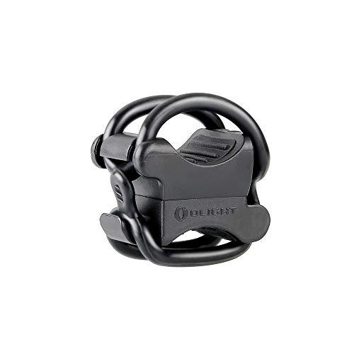 Olight FB-1 Universal Fahrradhalterung für Taschenlampe mit max. Durchmesser. von 10 mm bis 35 mm, Ideal für das Radfahren, verstellbare, Flexible, elastische Halterung