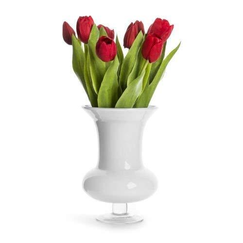 Sagaform Trophy Vaso soffiato a Bocca, Bianco
