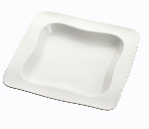 Villeroy & Boch 1011882130 vivo Design 0701 Suppenteller 23cm Quadrat