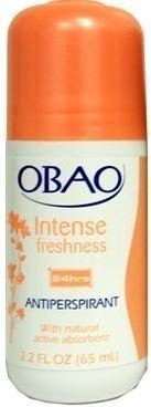 Obao Roll on Antiperspirant Frescura Intensa - 2.1 Oz by Audaz